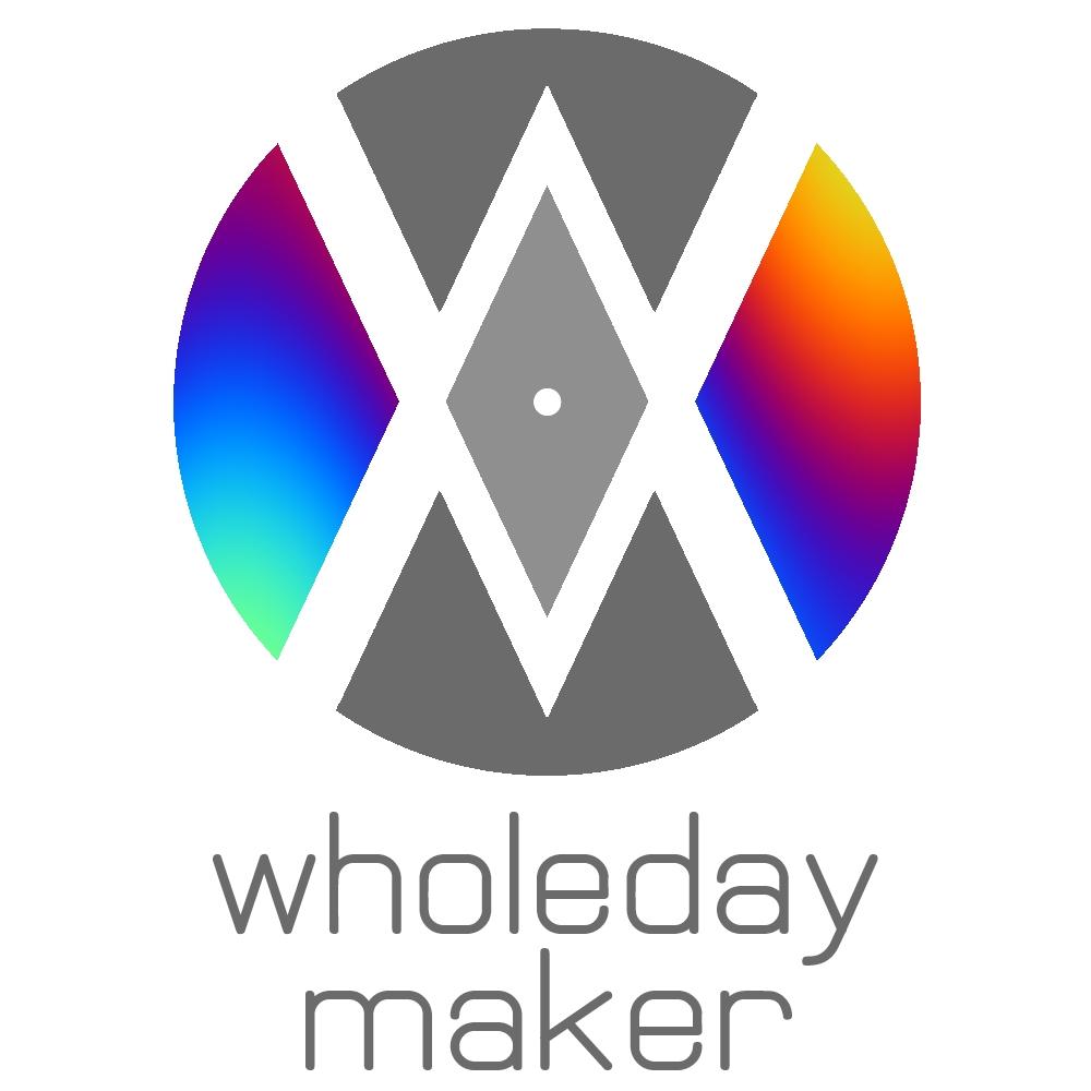 Logo - wholeday maker